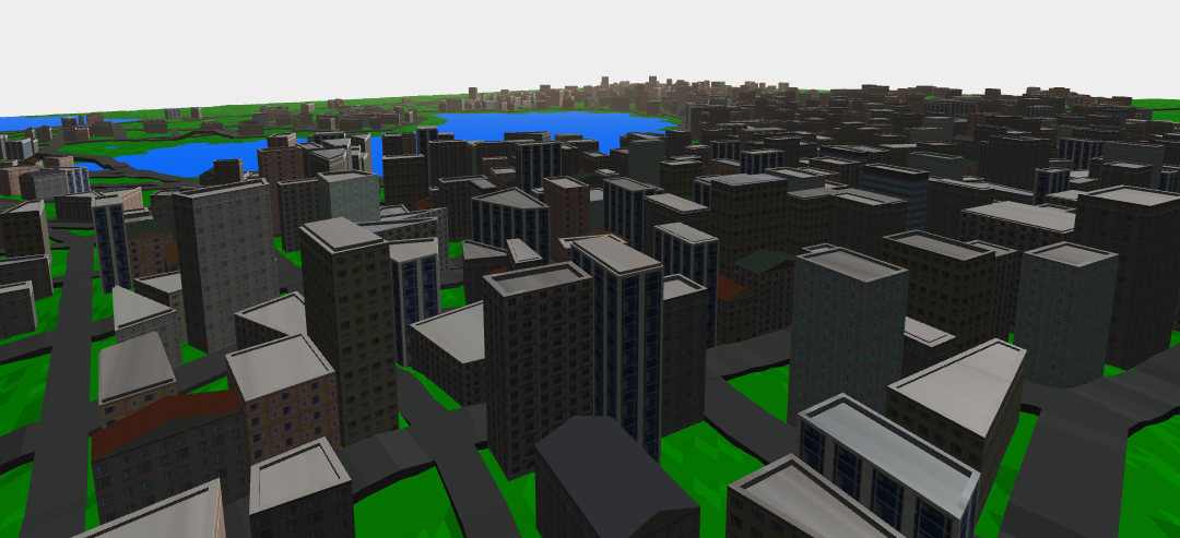 Procedural City Generation by Kristjan Perli - APT Game
